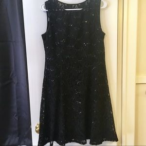 Ronni Nicole Lace and Sequin Dress